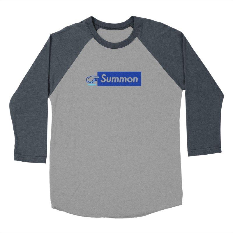 Summon Women's Baseball Triblend Longsleeve T-Shirt by Shop TerryMakesStuff