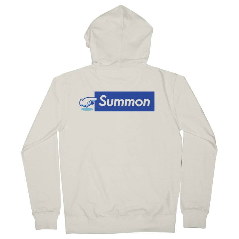 Summon Men's French Terry Zip-Up Hoody by Shop TerryMakesStuff