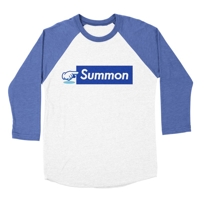 Summon Women's Baseball Triblend Longsleeve T-Shirt by Shop TerryMakesStuff