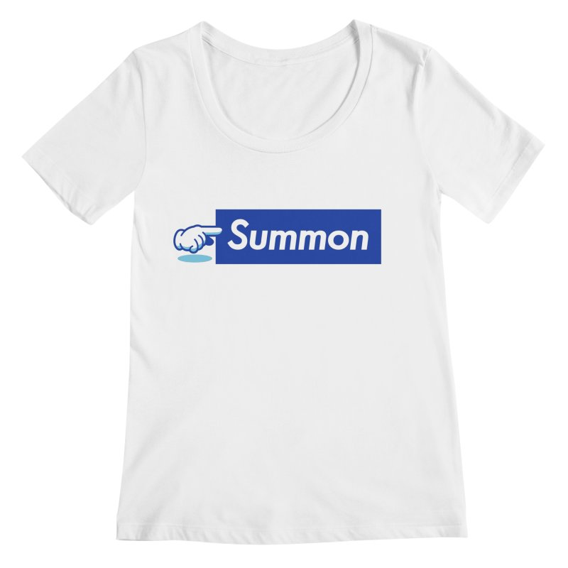 Summon Women's Scoopneck by Shop TerryMakesStuff