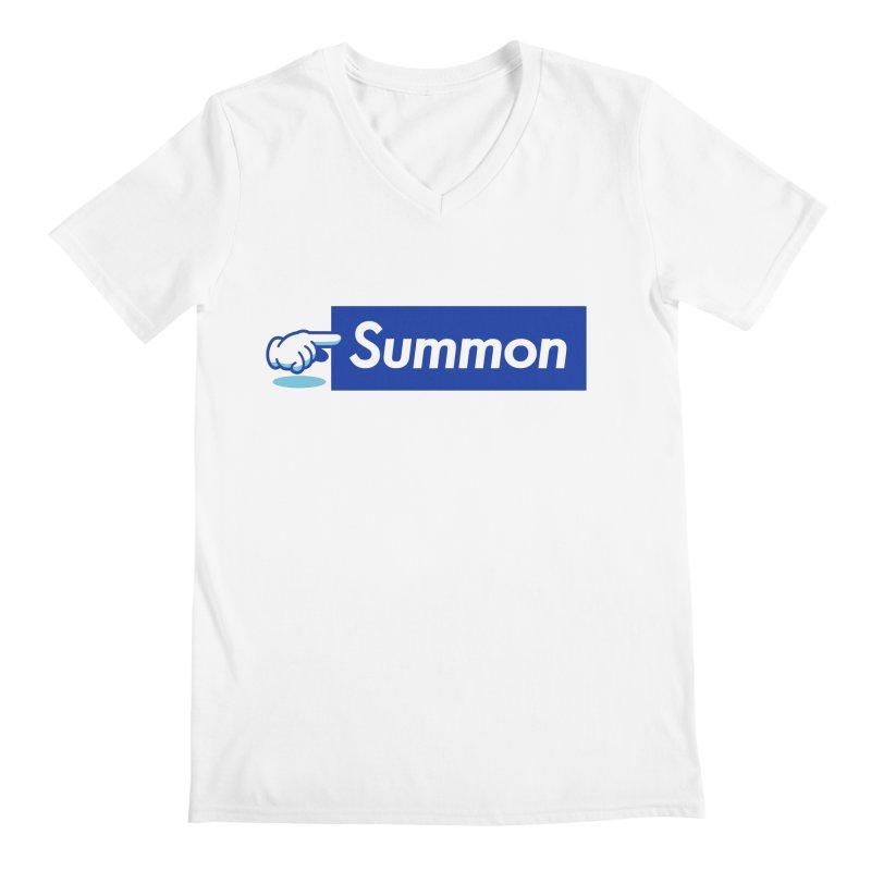 Summon Men's Regular V-Neck by Shop TerryMakesStuff