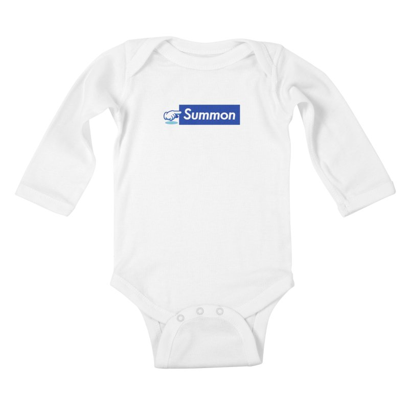 Summon Kids Baby Longsleeve Bodysuit by Shop TerryMakesStuff