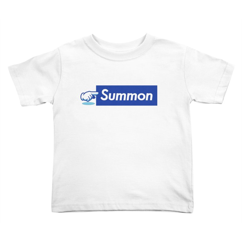 Summon Kids Toddler T-Shirt by Shop TerryMakesStuff