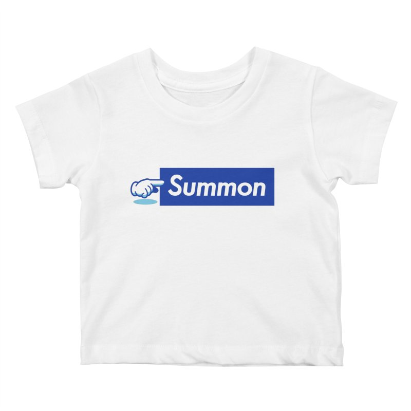 Summon Kids Baby T-Shirt by Shop TerryMakesStuff