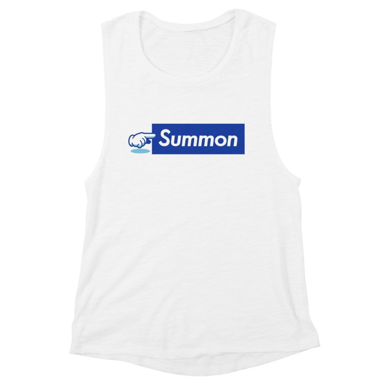 Summon Women's Muscle Tank by Shop TerryMakesStuff