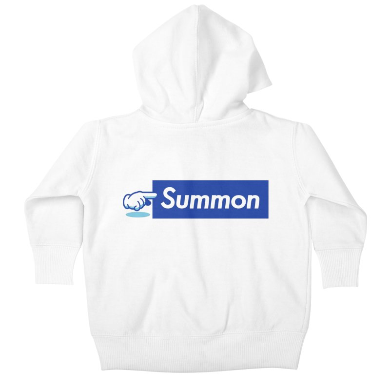 Summon Kids Baby Zip-Up Hoody by Shop TerryMakesStuff