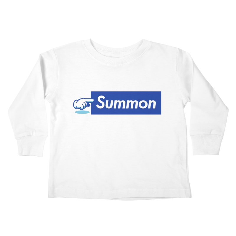 Summon Kids Toddler Longsleeve T-Shirt by Shop TerryMakesStuff