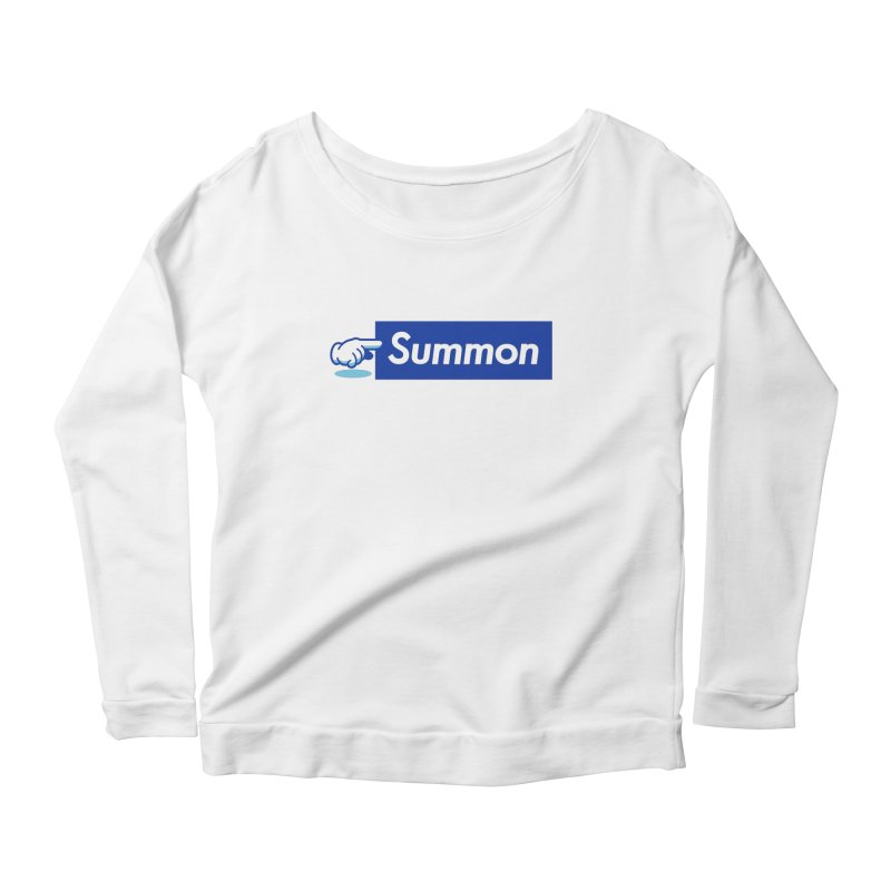 Summon Women's Scoop Neck Longsleeve T-Shirt by Shop TerryMakesStuff