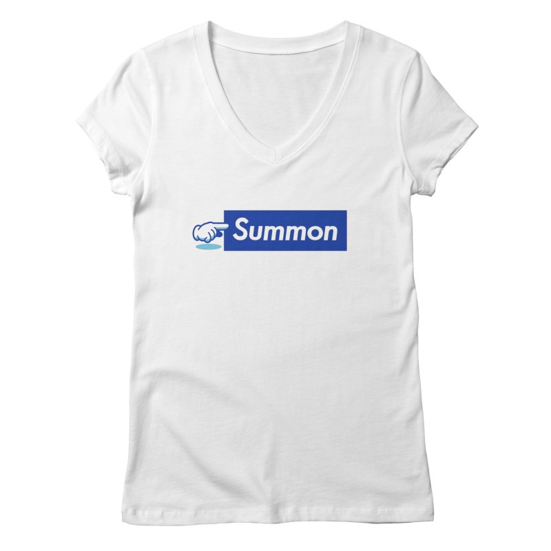 Summon Women's Regular V-Neck by Shop TerryMakesStuff