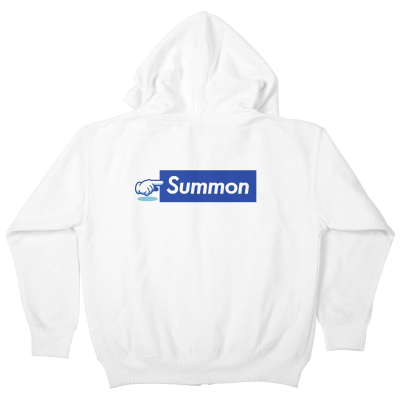 Summon Kids Zip-Up Hoody by Shop TerryMakesStuff
