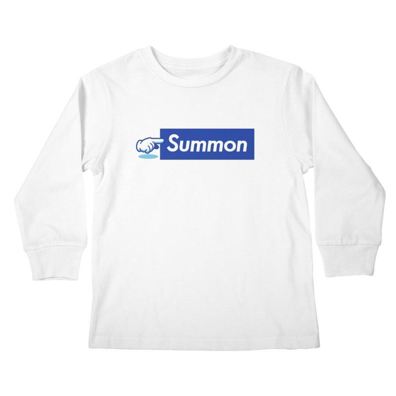 Summon Kids Longsleeve T-Shirt by Shop TerryMakesStuff