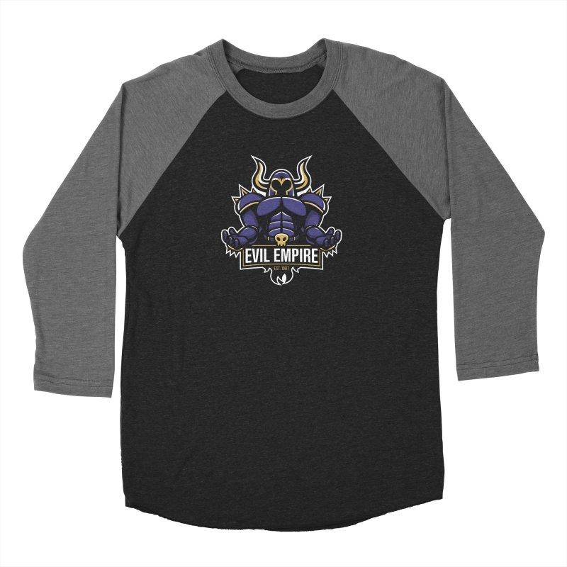 Evil Empire Women's Baseball Triblend Longsleeve T-Shirt by Shop TerryMakesStuff