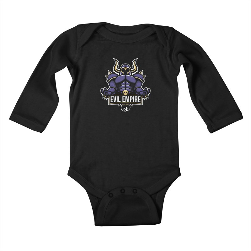 Evil Empire Kids Baby Longsleeve Bodysuit by Shop TerryMakesStuff
