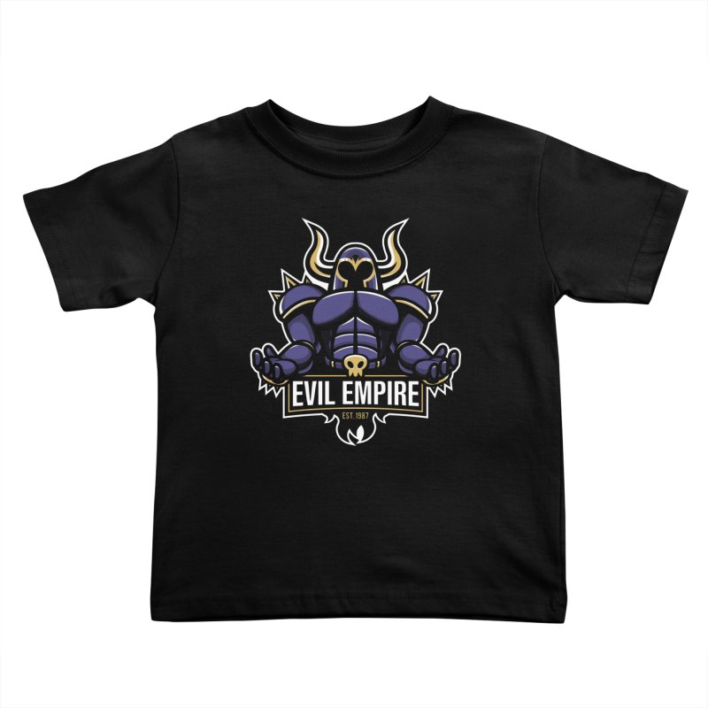 Evil Empire Kids Toddler T-Shirt by Shop TerryMakesStuff