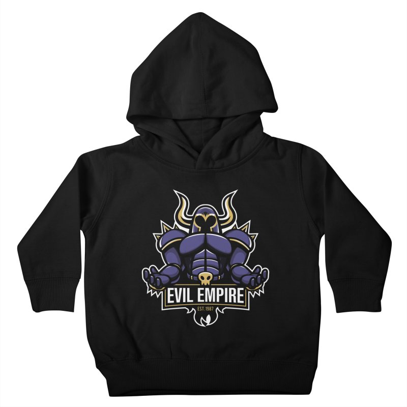 Evil Empire Kids Toddler Pullover Hoody by Shop TerryMakesStuff