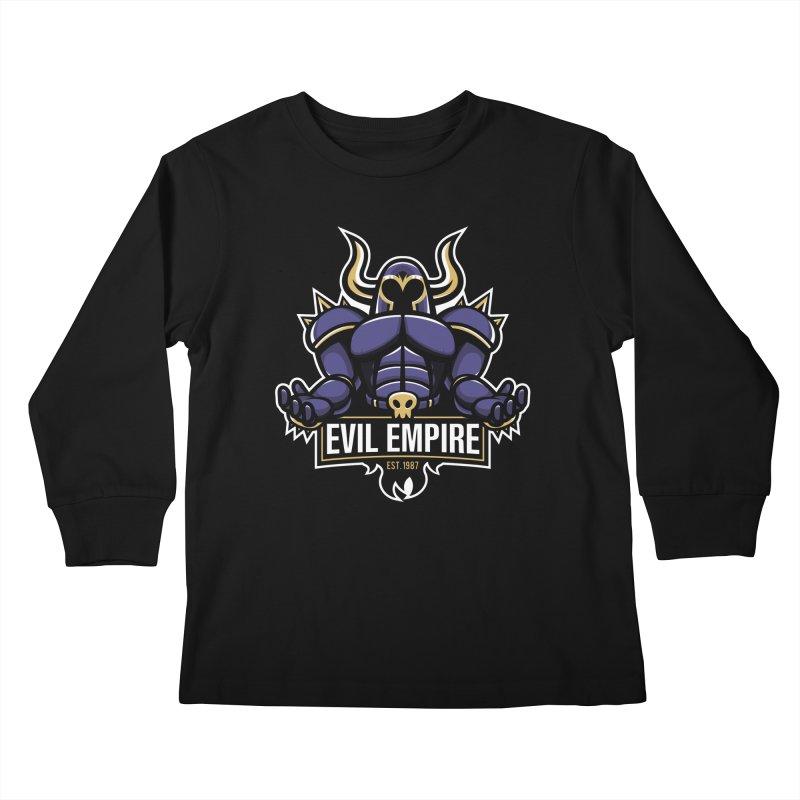 Evil Empire Kids Longsleeve T-Shirt by Shop TerryMakesStuff