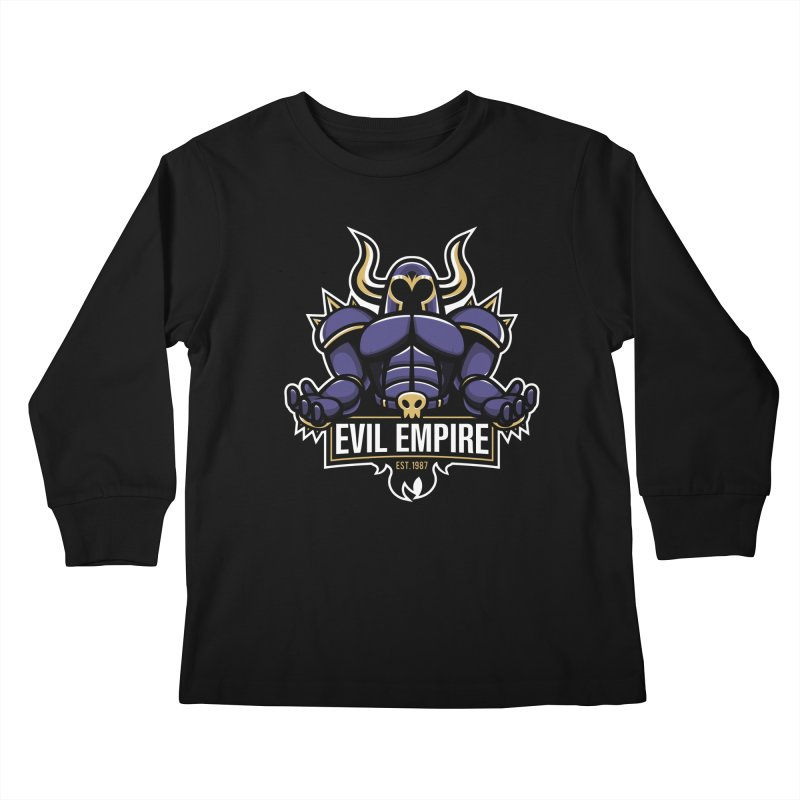 Evil Empire Kids Longsleeve T-Shirt by Shop TerryMakesStuff