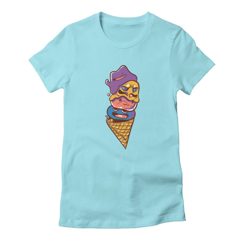 Slime Cone Women's Fitted T-Shirt by Shop TerryMakesStuff