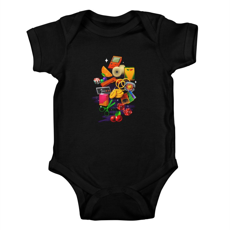 Born 88 Kids Baby Bodysuit by Shop TerryMakesStuff