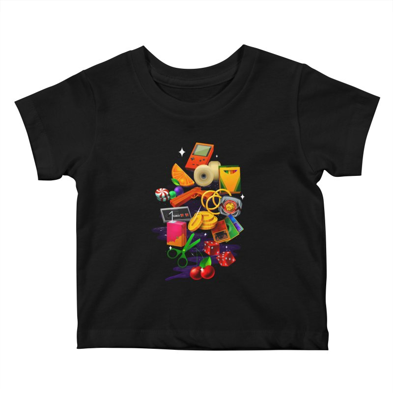 Born 88 Kids Baby T-Shirt by Shop TerryMakesStuff