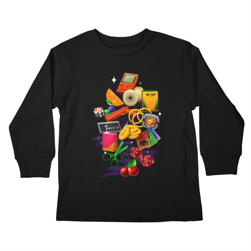 Born 88 Kids Longsleeve T-Shirt by Shop TerryMakesStuff