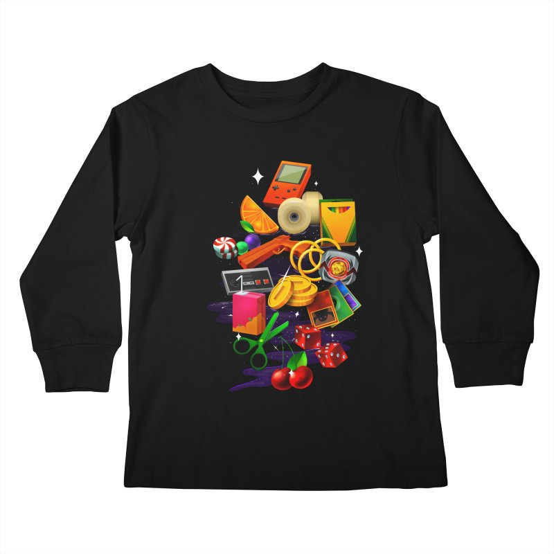 Born 88 Kids Longsleeve T-Shirt by Shop TerryMakesStuff