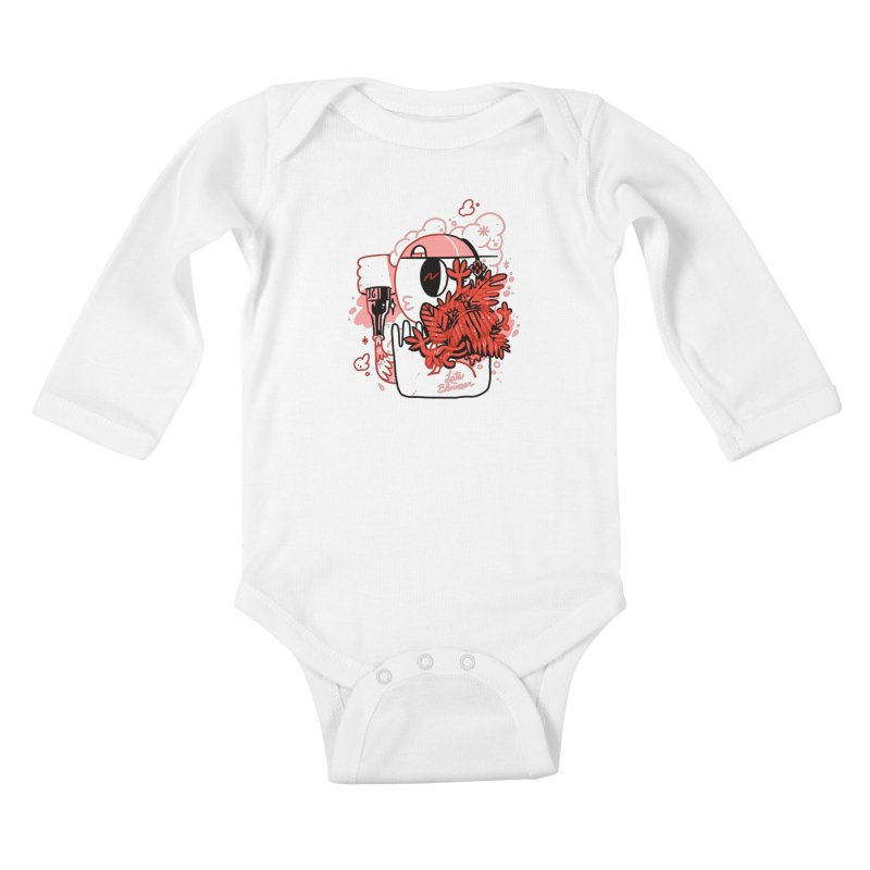 Late Bloomer Kids Baby Longsleeve Bodysuit by Shop TerryMakesStuff