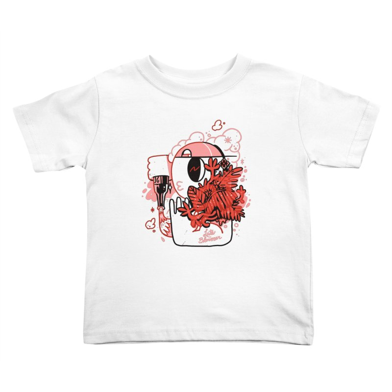 Late Bloomer Kids Toddler T-Shirt by Shop TerryMakesStuff