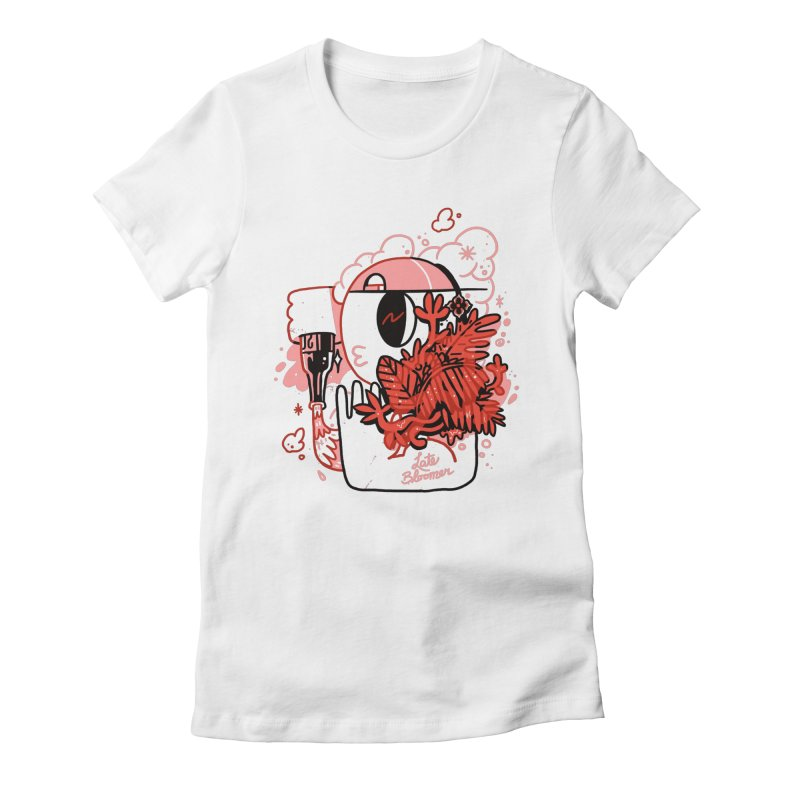 Late Bloomer Women's Fitted T-Shirt by Shop TerryMakesStuff