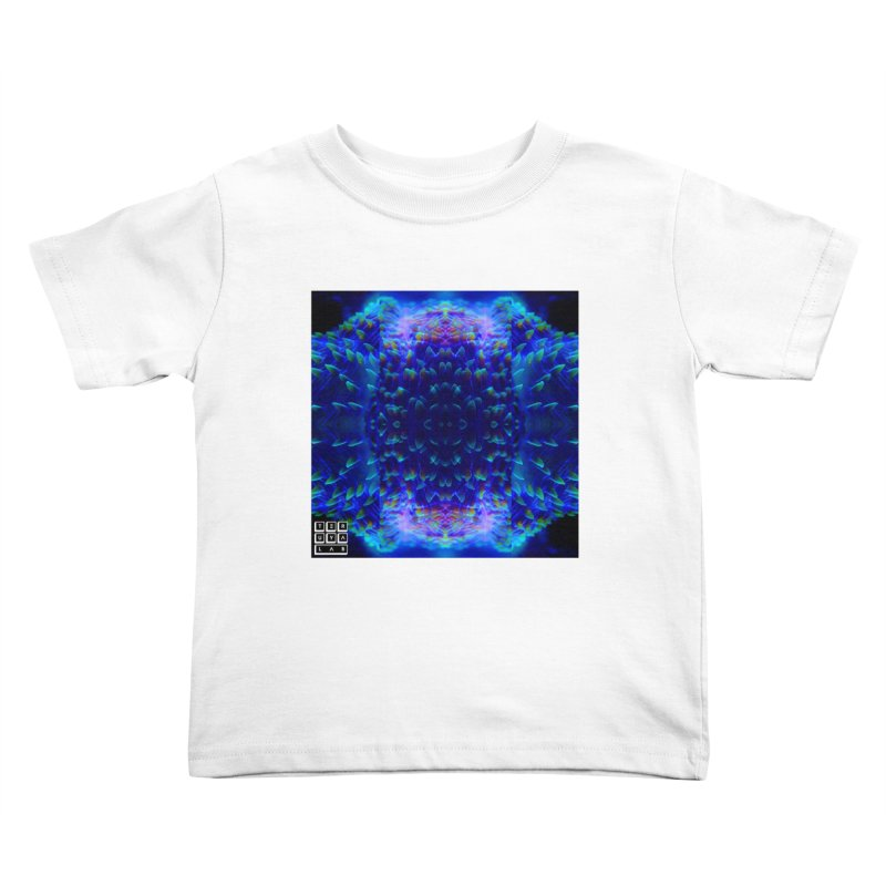 Purple Plate Kids Toddler T-Shirt by TERUYA LAB