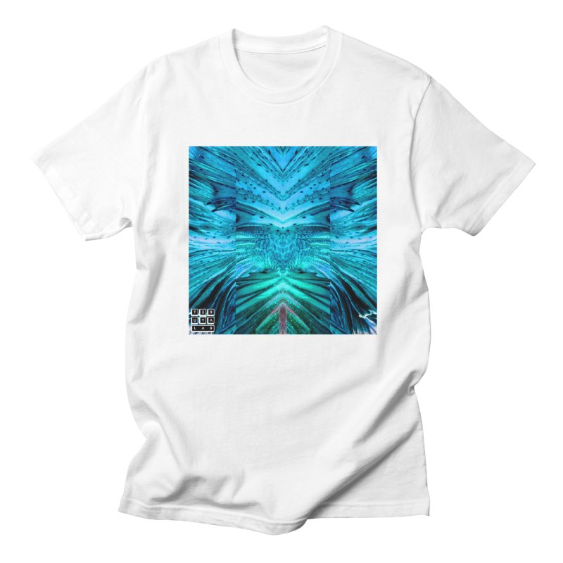 Blue Betta in Men's Regular T-Shirt White by TERUYA LAB