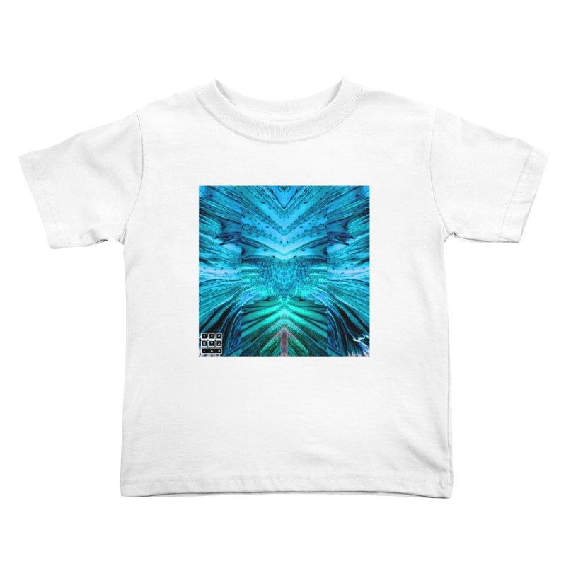 Blue Betta Kids Toddler T-Shirt by TERUYA LAB