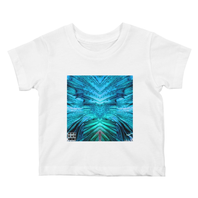 Blue Betta Kids Baby T-Shirt by TERUYA LAB