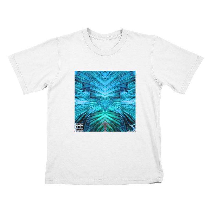 Blue Betta Kids T-Shirt by TERUYA LAB