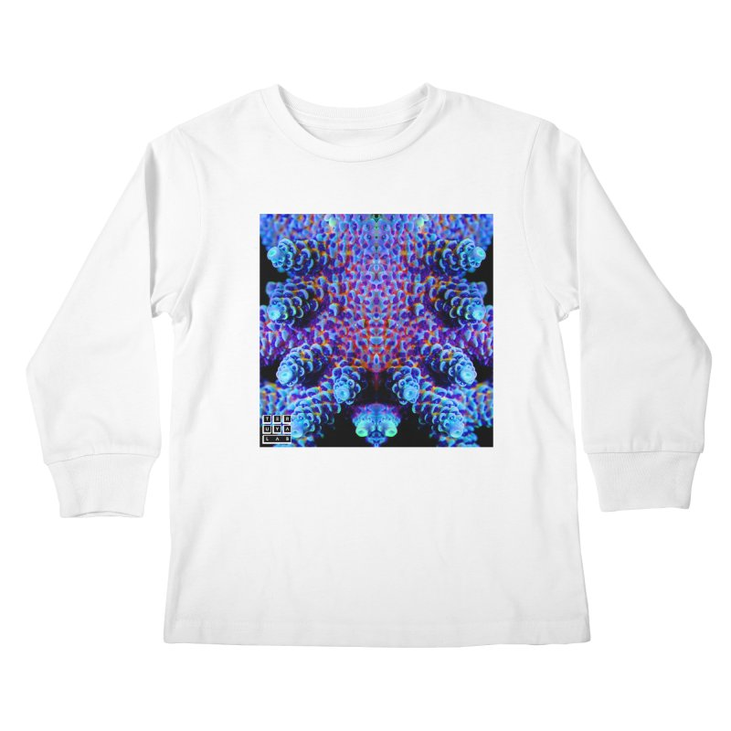 Aussie Acropora Kids Longsleeve T-Shirt by TERUYA LAB