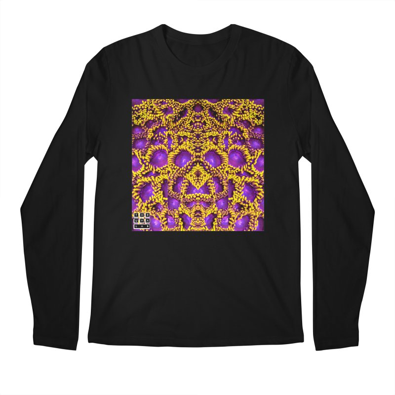 Zoophagous Zoanthids Men's Regular Longsleeve T-Shirt by TERUYA LAB