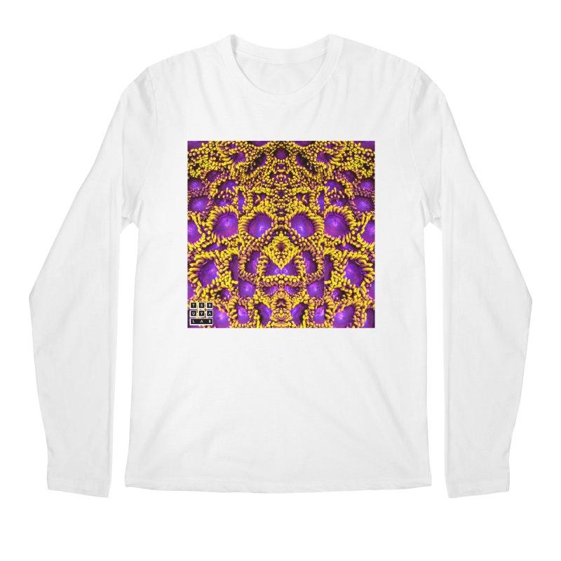Zoophagous Zoanthids Men's Regular Longsleeve T-Shirt by TERUYA LAB