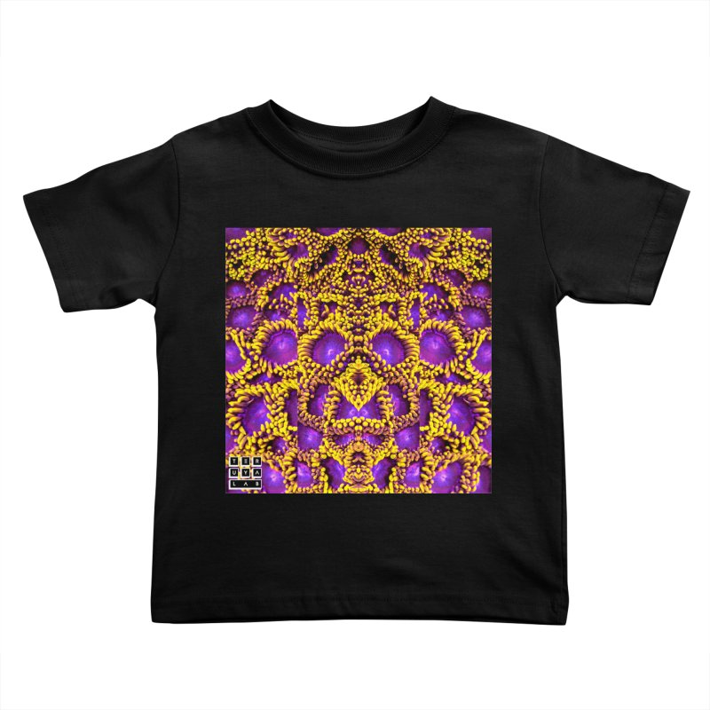 Zoophagous Zoanthids Kids Toddler T-Shirt by TERUYA LAB