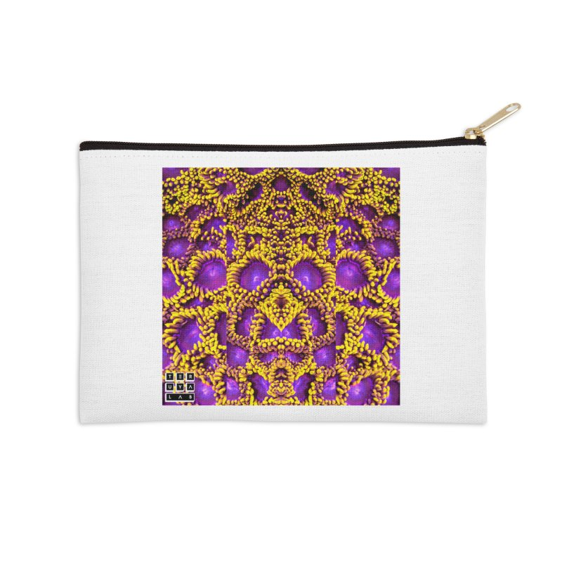 Zoophagous Zoanthids Accessories Zip Pouch by TERUYA LAB