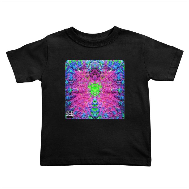 Shrill Shroom Kids Toddler T-Shirt by TERUYA LAB