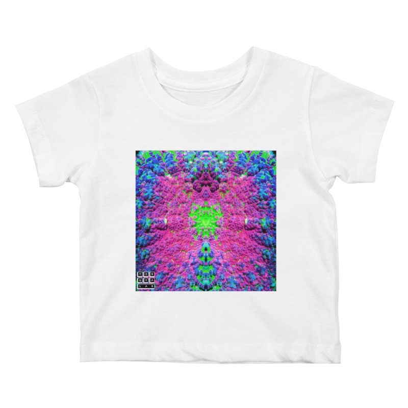 Shrill Shroom Kids Baby T-Shirt by TERUYA LAB