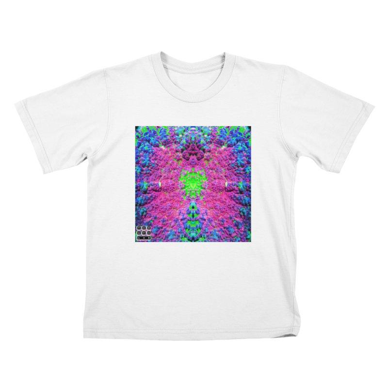 Shrill Shroom Kids T-Shirt by TERUYA LAB