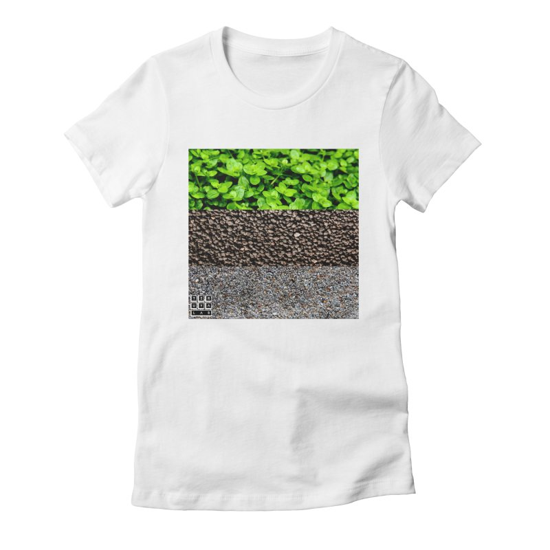 Hemianthus Callitrichoides Women's Fitted T-Shirt by TERUYA LAB