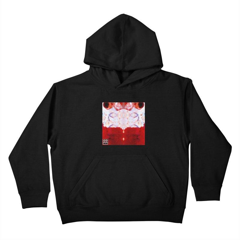 Crystal Shrimp Kids Pullover Hoody by TERUYA LAB