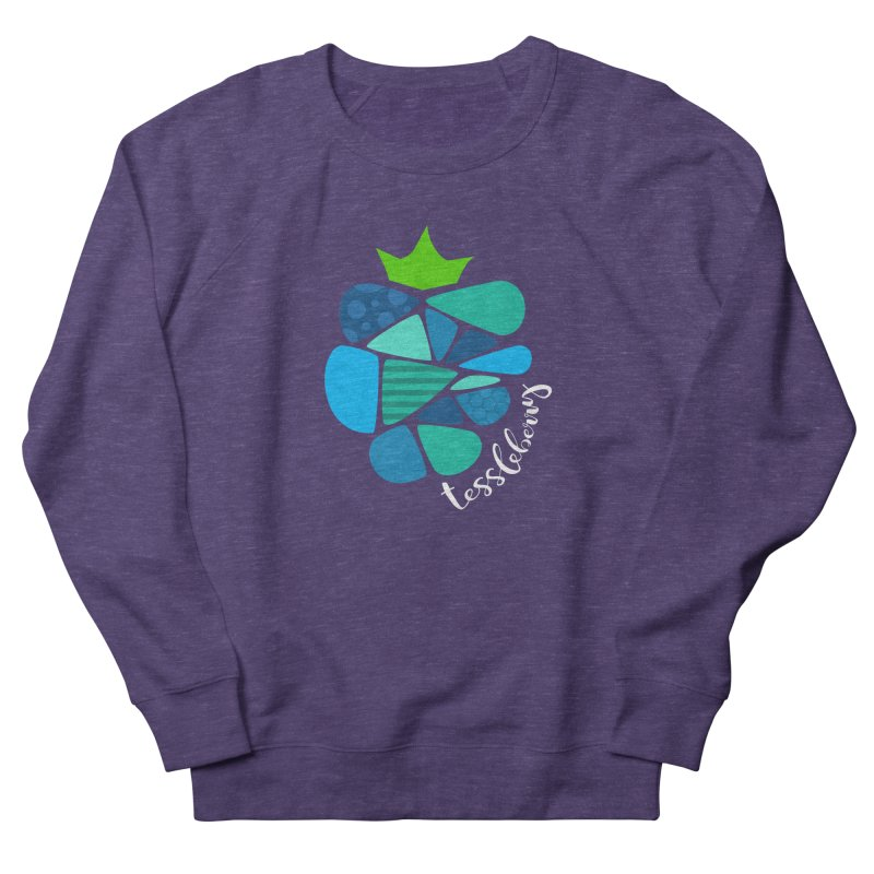 hi i'm a tessleberry tshirt with white letters Men's Sweatshirt by tessleberry's Artist Shop
