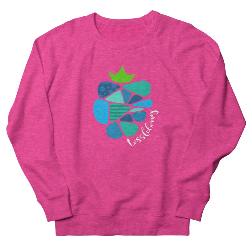 hi i'm a tessleberry tshirt with white letters Men's Sweatshirt by tessleberry's Artist Shop