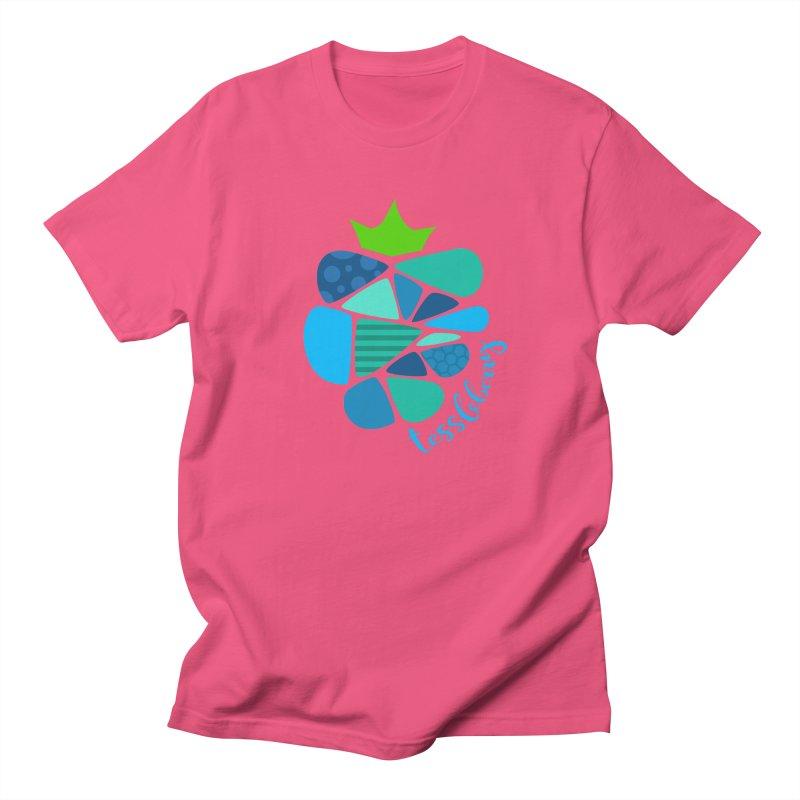 hi i'm a tessleberry tshirt with blue letters Men's T-Shirt by tessleberry's Artist Shop