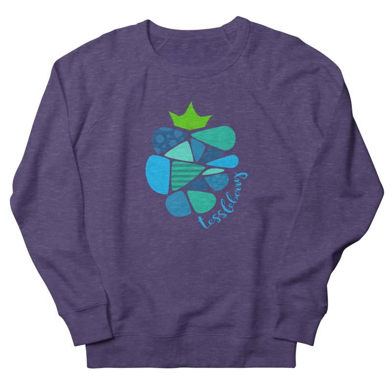 hi i'm a tessleberry tshirt with blue letters Women's Sweatshirt by tessleberry's Artist Shop