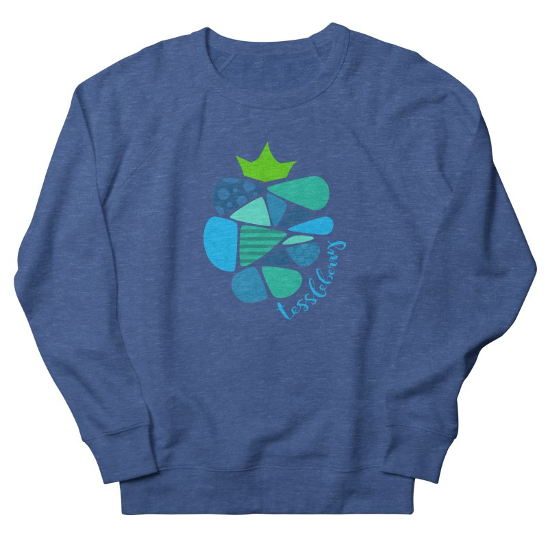 hi i'm a tessleberry tshirt with blue letters Men's Sweatshirt by tessleberry's Artist Shop