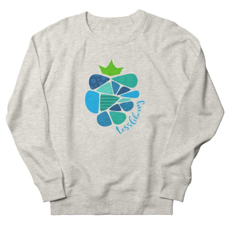 hi i'm a tessleberry tshirt with blue letters Men's Sweatshirt by tessleberry's Artist Shop